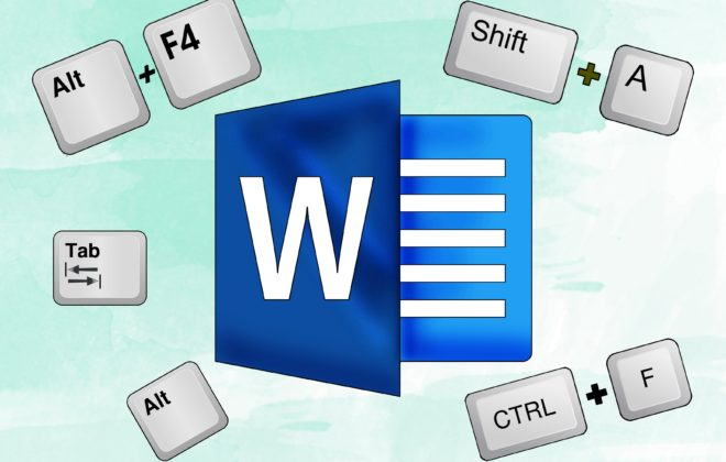 Microsoft Word shortcuts