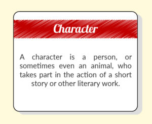 short stories character