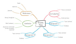 Mind mapping for essays