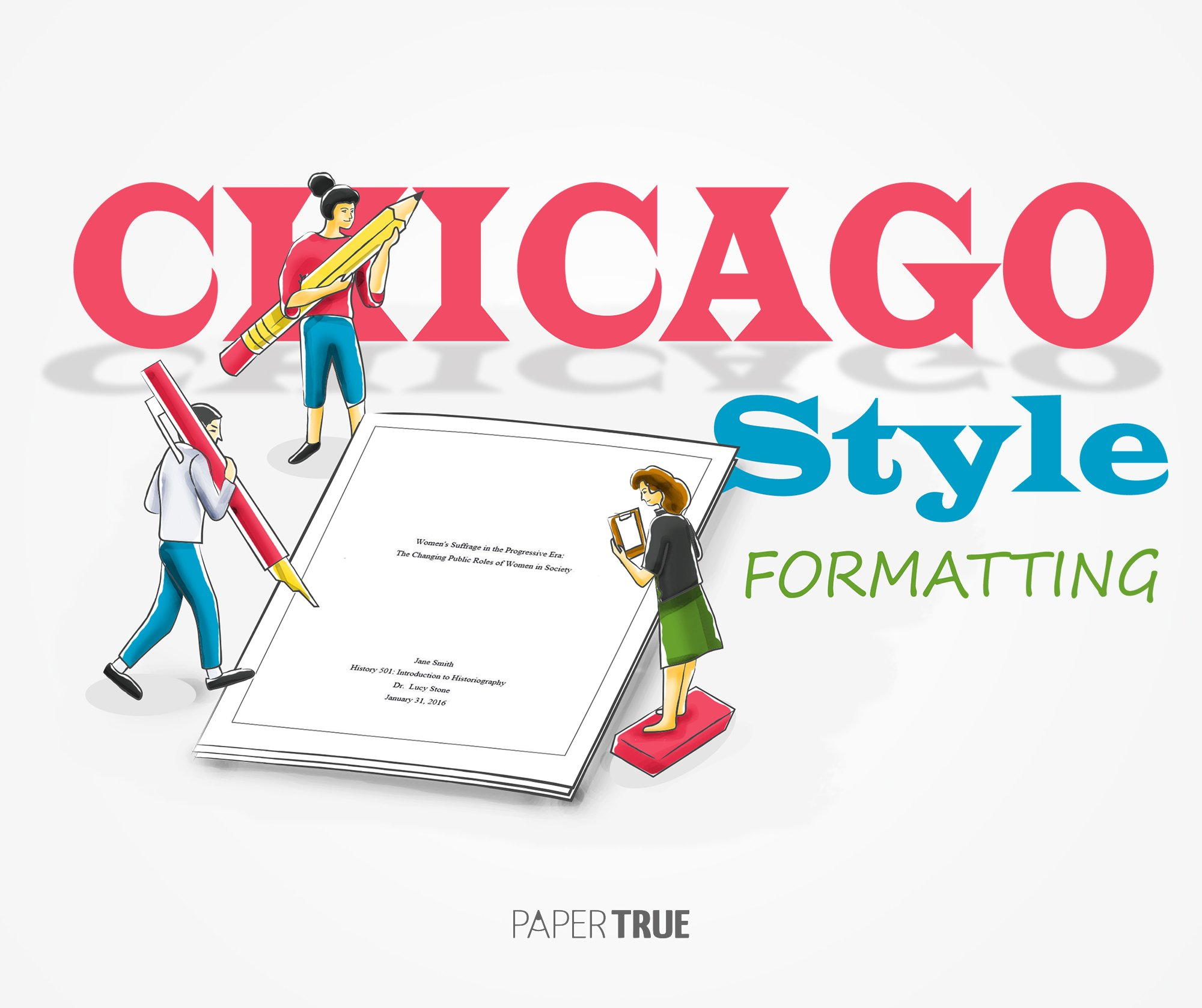 Chicago style for papers