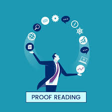 client and individual proofreader
