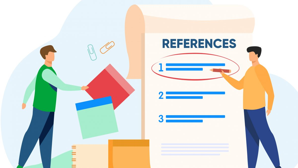 how to edit and proofread references.